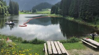 Morgins: l'armée déverse accidentellement 50 litres d'huile dans un lac protégé