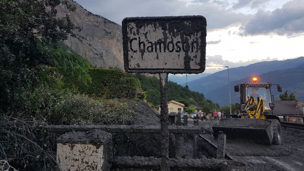 En 2018, la lave torrentielle avait causé plus de 500 000 francs de dégâts à Chamoson.