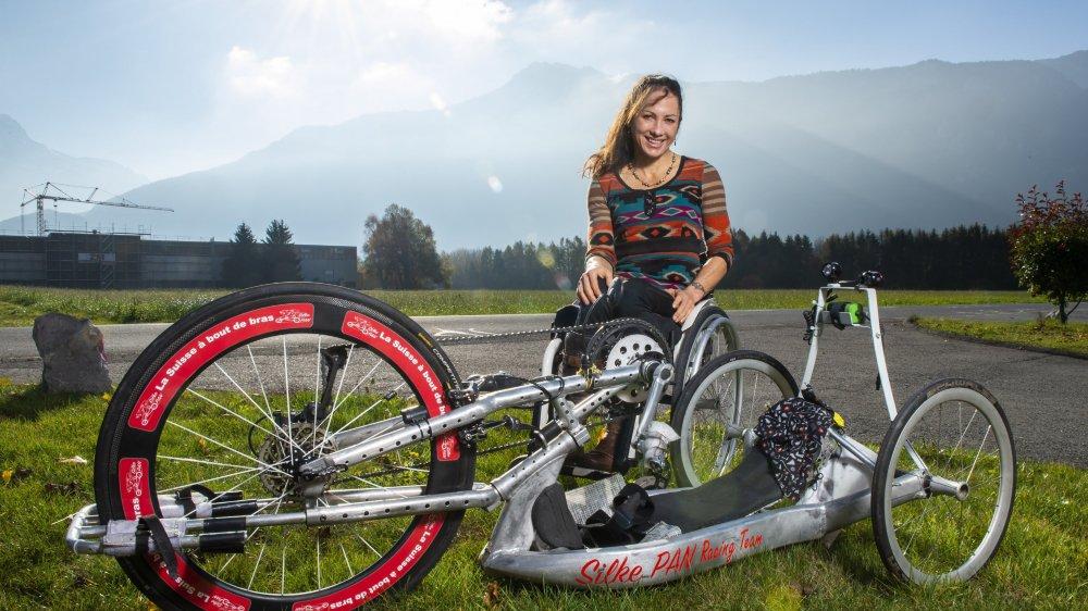 Pour l'athlète paraplégique Silke Pan, handicap et indépendance peuvent aller ensemble.