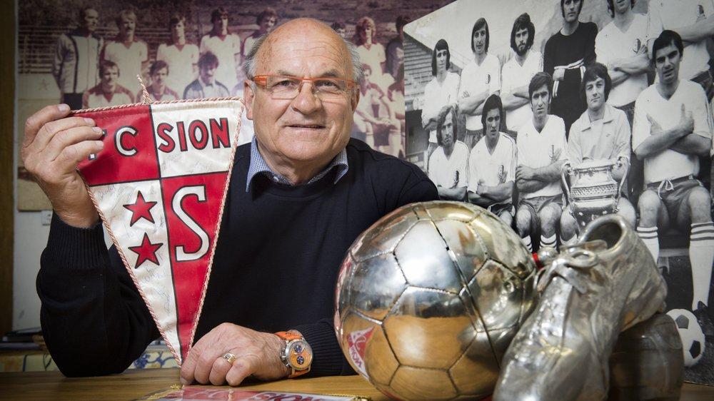 Fernand Luisier a porté durant seize ans le maillot du FC Sion.