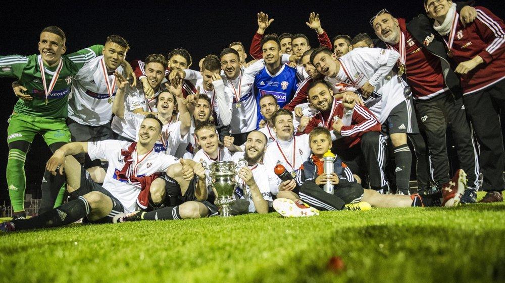 Mai 2016: le FC Conthey remporte la Coupe valaisanne. Moins d'une année après avoir été sacré champion de 2e ligue et promu en 2e ligue interrégionale.