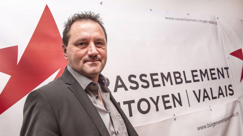 Candidat du Rassemblement citoyen Valais (RCV), Jean-Marie Bornet n'avait pas mâché ses mots vis-à-vis de la justice valaisanne.