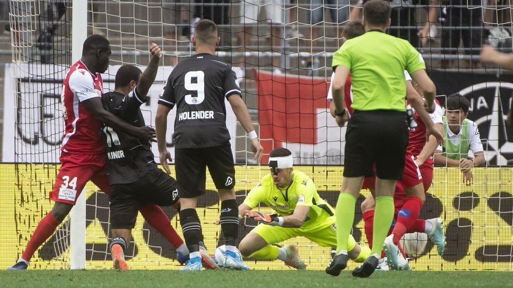 Kewin Fickentscher sauve une nouvelle fois le FC Sion à Lugano