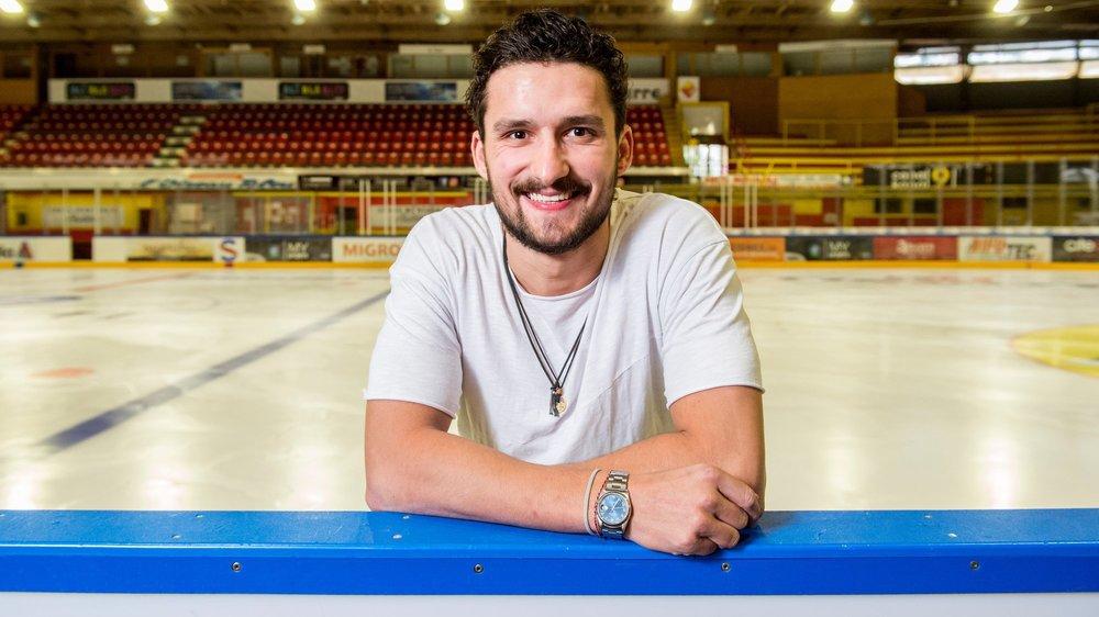 Vincent Praplan retrouve les patinoires de Suisse pour la saison 2019-2020.