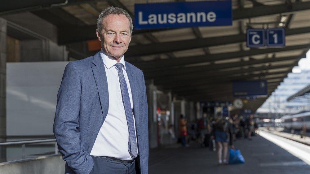 AlainBarbey, directeur régional des CFF en Suisse romande