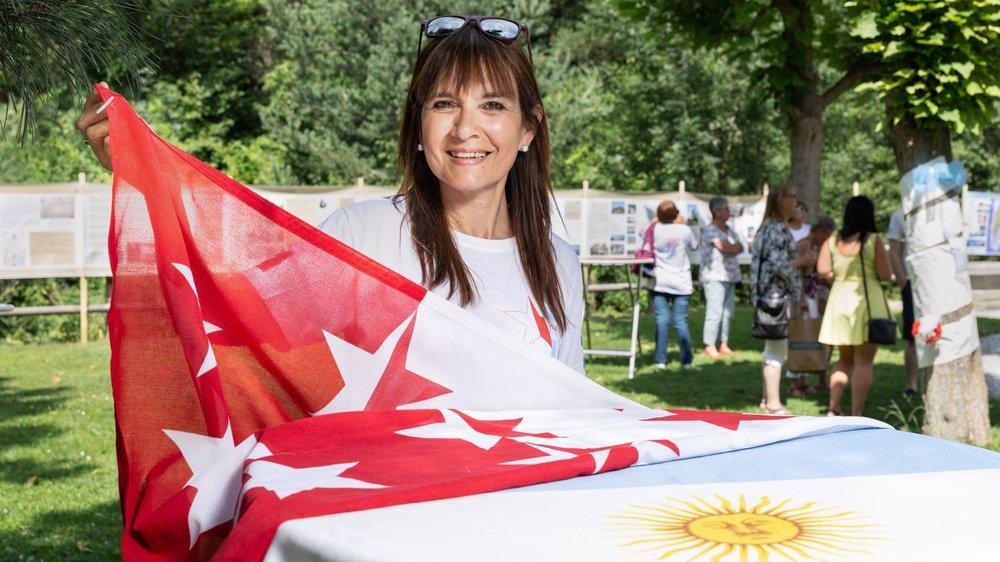 Silvia Fachini était présente en Valais pendant dix jours à l'occasion des trente ans de l'association Valais-Argentine qui a créé le centre d'études de Colon où elle enseigne.