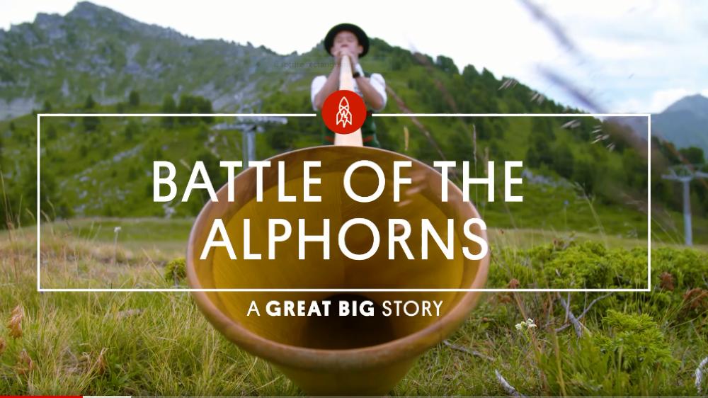 En 2017, le média en ligne américain Great Big Story a consacré une vidéo entière au festival de cor des Alpes de Nendaz.
