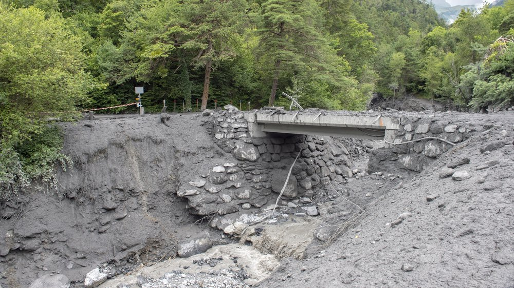 Dimanche soir, pour la deuxième fois en un an, une lave torrentielle déferlait sur la commune de Chamoson.