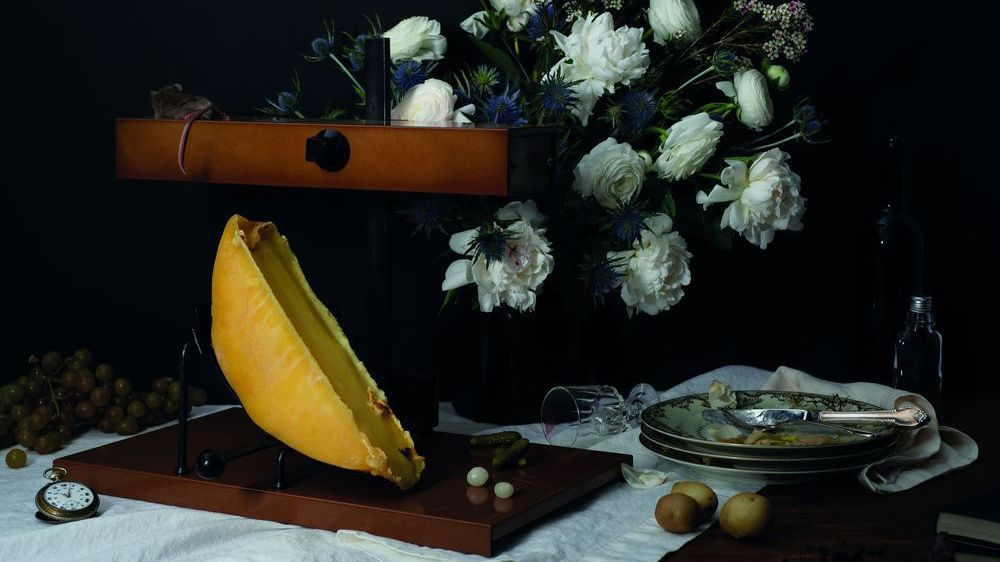 L'une des photographies à voir du 4 août au 29 septembre dans les rues du village de Bruson, dans le cadre de l'Exposition universelle du fromage à raclette.