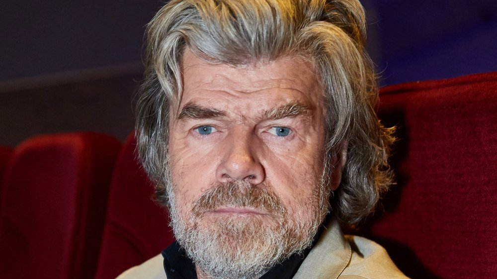 Reinhold Messner était de passage au Festival international du film alpin des Diablerets dimanche, où il a présenté son film «L'Everest, l'ultime frontière».