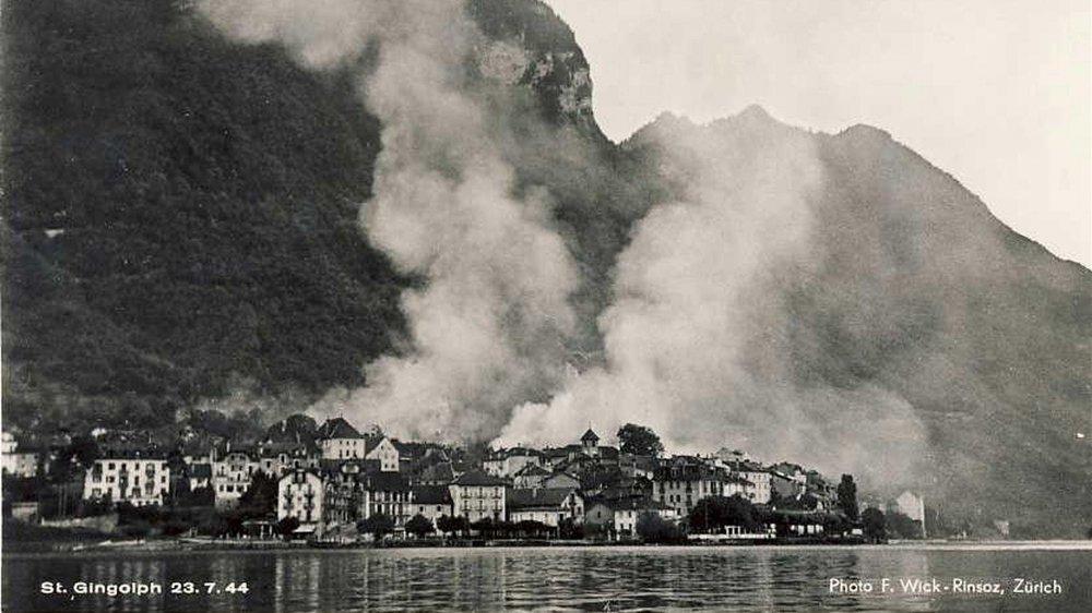 Le 23 juillet 1944, Saint-Gingolph France a connu la pire tragédie de son histoire.