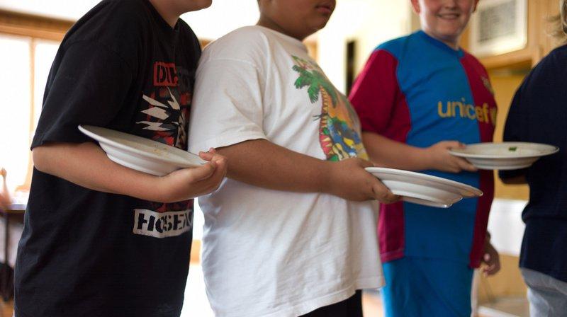 Selon une étude espagnole, un enfant suisse suisse sur sept est obèse ou en surpoids. (Illustration)