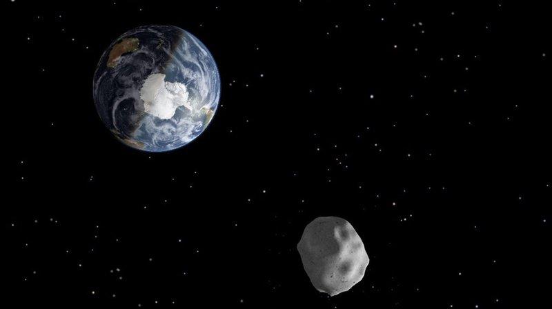 Les impacts des astéroïdes sur la Terre ne se produisent qu'environ une fois tous les deux ou trois siècles. (illustration)