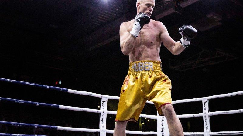 Benoît Huber, à peine de retour sur les rings, tentera de remporter le titre national chez les professionnels.