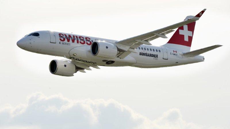 Incident aérien: victime d'un problème de réacteur, un avion de Swiss atterrit d'urgence à Paris