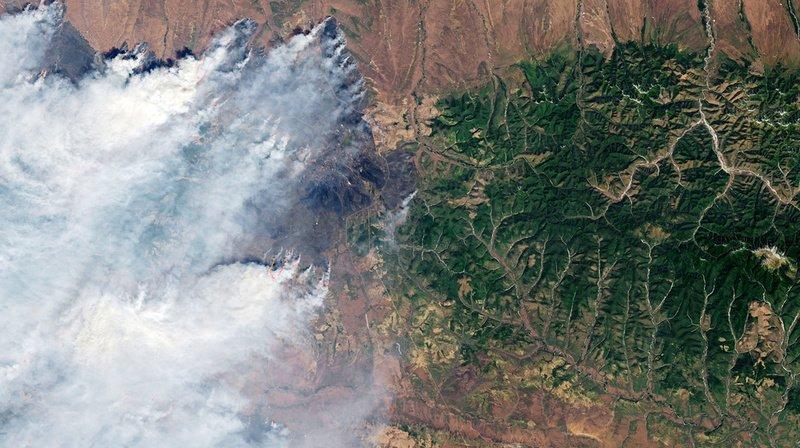 Arctique: du Canada à la Sibérie, les incendies géants vus depuis l'espace