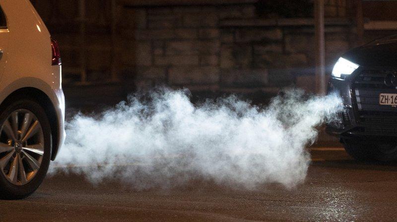 Climat: les émissions de CO2 en Suisse restent inchangées à cause de la hausse du trafic