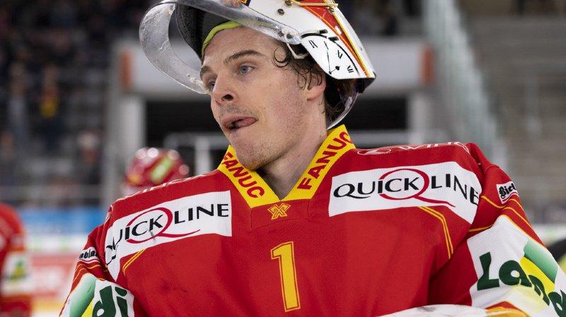 Jonas Hiller a évolué durant 9 saisons en NHL avant de rejoindre le HC Bienne (archives).