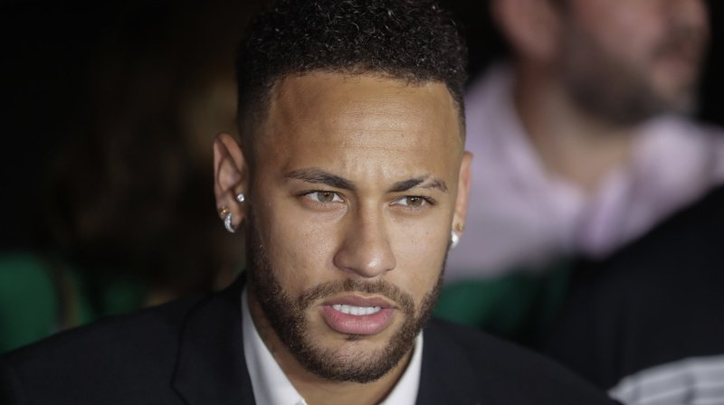 Le joueur brésilien s'est exprimé devant la presse en juin dernier, clamant son innocence. (archives)
