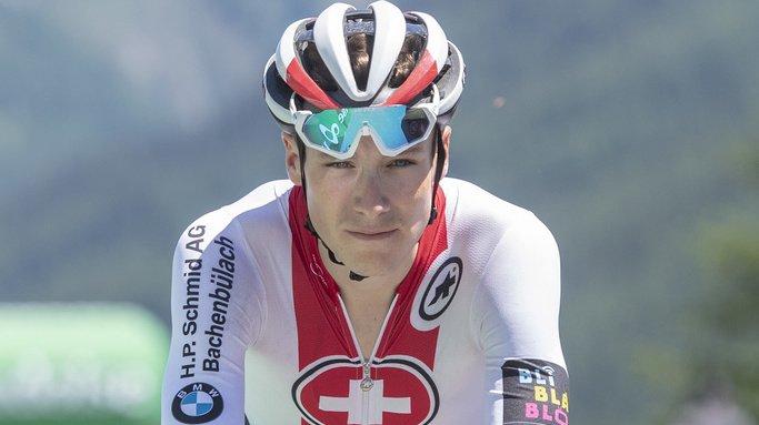 Gian Friesecke a obtenu le meilleur temps lors du prologue du Tour du Portugal, mais finit tout de même deuxième. (Archives)