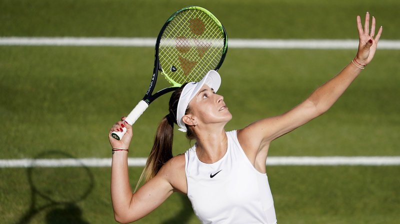 Belinda Bencic est de retour sur les courts après son élimination au tournoi de Wimbledon en juillet. (Archives)