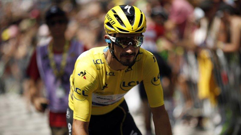 Cyclisme – Tour de France: Alaphilippe remporte le contre-la-montre et conforte son maillot jaune