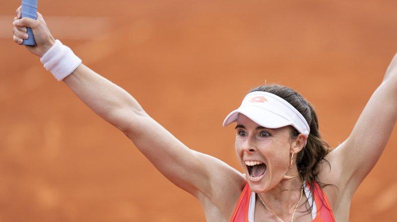 Alizé Cornet a battu l'Allemande Tamara Korpatsch en demi-finale du Ladies Open de Lausanne.