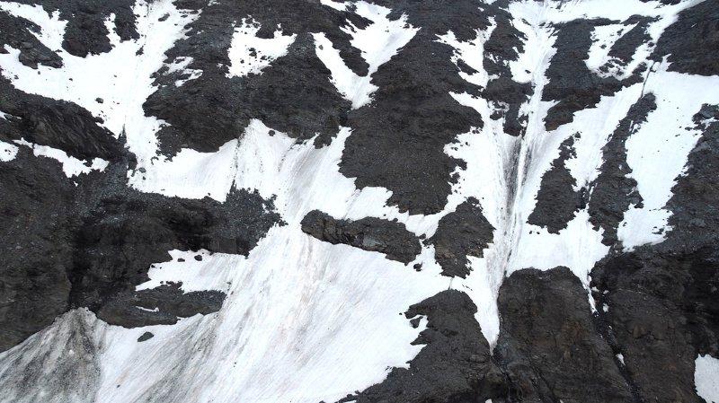 Une chute de pierres a déboulé vers 05h00 sur la cordée qui se dirigeait vers le sommet du Grand-Combin.