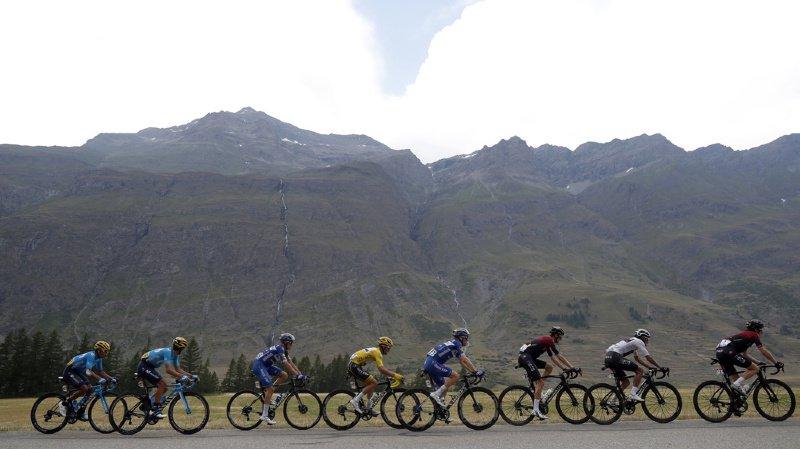 Cyclisme - Tour de France: la 19e étape arrêtée à 30 km de l'arrivée, Bernal en jaune