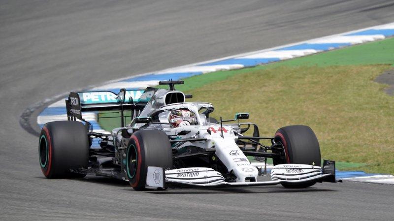 Formule 1: Hamilton décroche une nouvelle pole au Grand Prix d'Allemagne, les Ferrari larguées