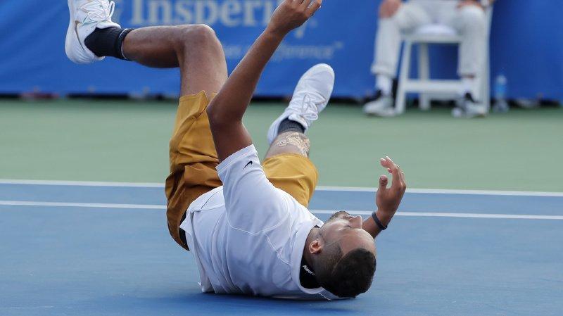 """Le """"bad boy"""" du tennis est notamment sanctionné pour avoir quitté le court sans permission, proféré des obscénités et pour sa conduite anti-sportive envers son adversaire (archives)."""