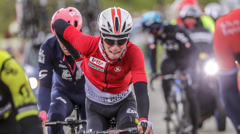 Le Belge Bjorg Lambrecht est décédé lundi lors de la 3e étape du Tour de Pologne. (Archives)