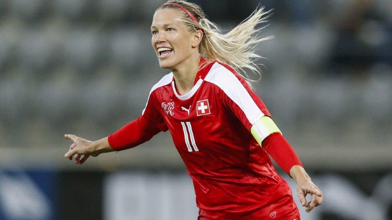 Football: la Suissesse Lara Dickenmann met un terme à sa carrière internationale
