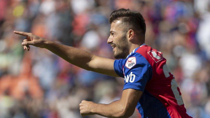 Football: l'international suisse Albian Ajeti quitte le FC Bâle pour West Ham