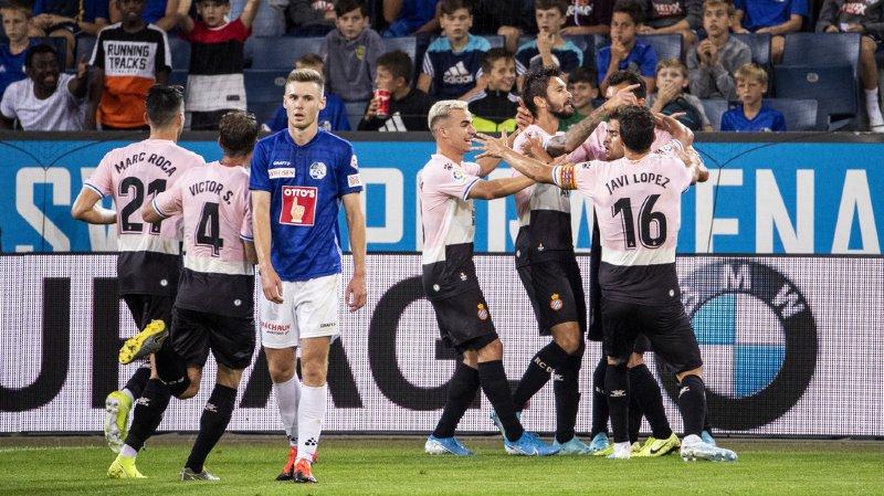 Football - Europa League: le FC Lucerne s'incline logiquement à domicile face à l'Espanyol Barcelone