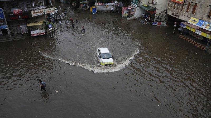 Inde: la mousson a déjà fait 209 morts, nouvelles inondations attendues