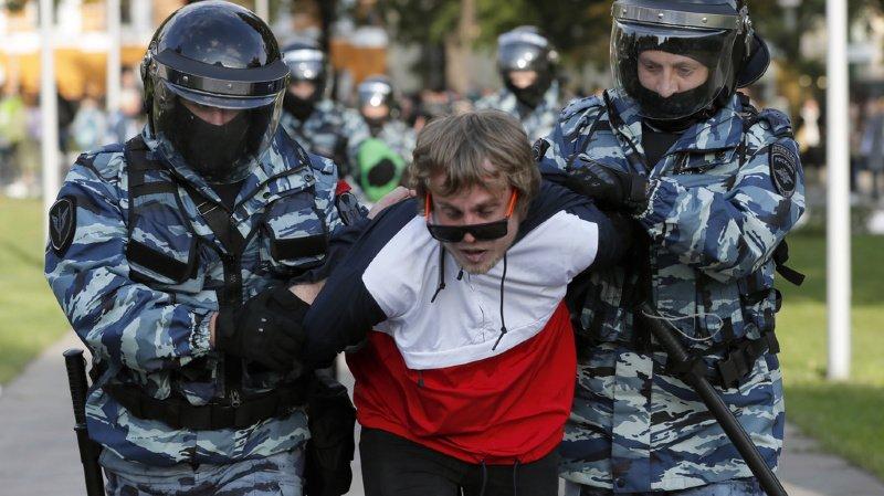 Environ 50 manifestants ont été arrêtés ce samedi à Moscou.