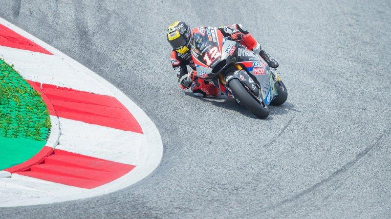 Moto2 – GP d'Autriche: Thomas Lüthi termine 6e et perd de précieux points