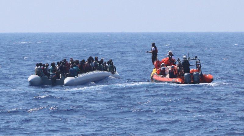 Méditerranée: l'Ocean Viking a secouru 105 migrants supplémentaires au large de la Libye
