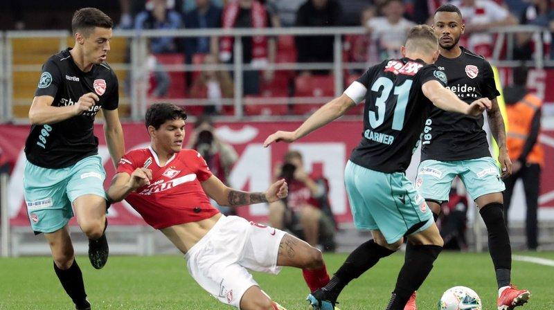 Football – Europa League: le FC Thoune sorti par le Spartak Moscou