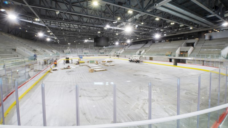 Bienvenue dans la Lonza Arena du HC Viège