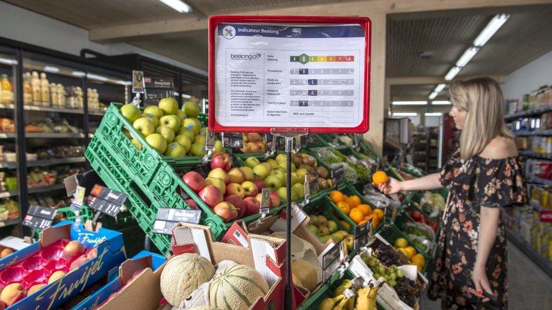 A Bramois, Edelweiss Market affiche l'impact environnemental de ses produits