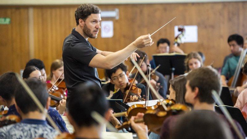 Avec le Junior Orchestra, le Verbier Festival prépare sa relève