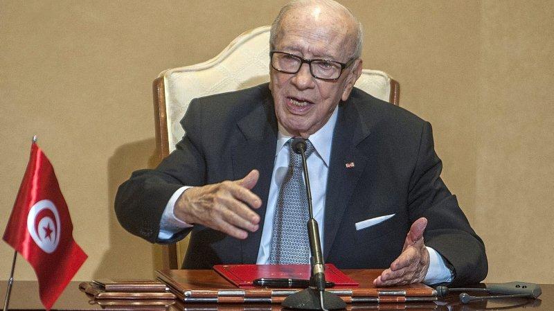 Décès du président tunisien à 92 ans