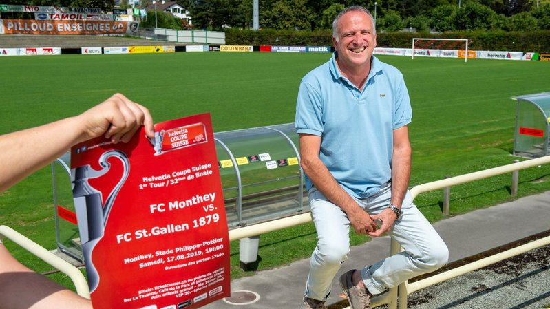 La fête promet d'être belle pour le FC Monthey qui reçoit Saint-Gall en Coupe de Suisse