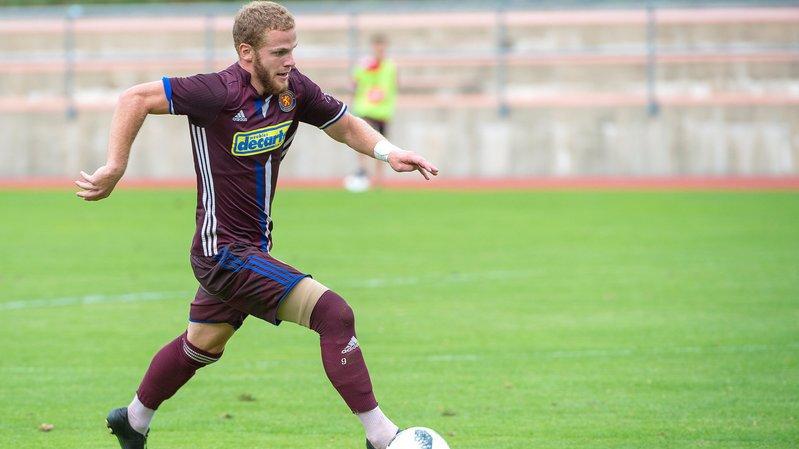 Thibault Constantin a inscrit le but de la victoire pour Martigny contre Meyrin.