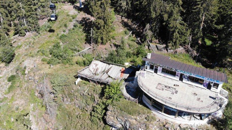 Crans-Montana: la démolition de l'ancien restaurant Le Panoramique pourrait être ordonnée