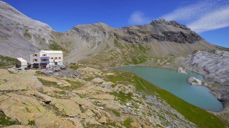 La cabane des Audannes, qui fête ses 25 ans le 15 août prochain, est située dans un cadre magnifique. Elle est ouverte jusqu'à la mi-octobre.