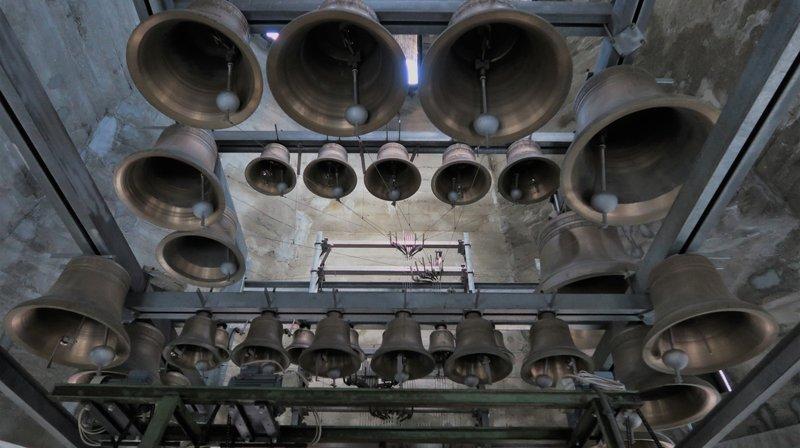 Saint-Maurice: le plus grand carillon de Suisse se dévoile lors d'un festival de trois jours