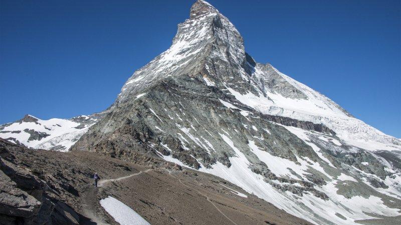 Les trains ne circulent plus en direction de Zermatt.